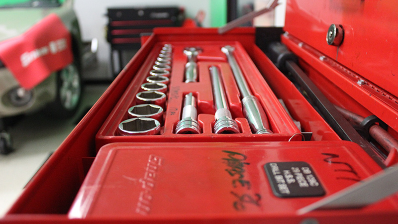 Snapon toolbox in UTI lab