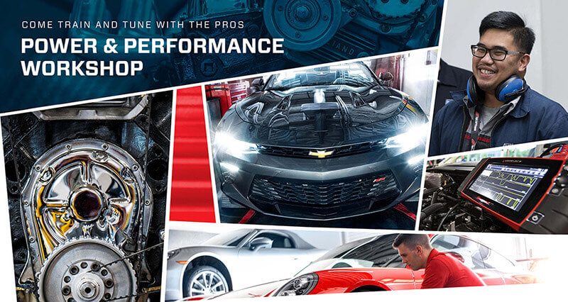 2019 Power and Performance Workshop event banner