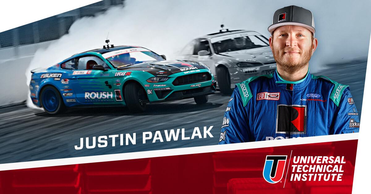Texas Motor Speedway Formula Drift Driver Justin Pawlak