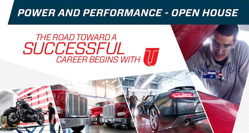 Power and Performance National Open House August 22, 2019 event banner