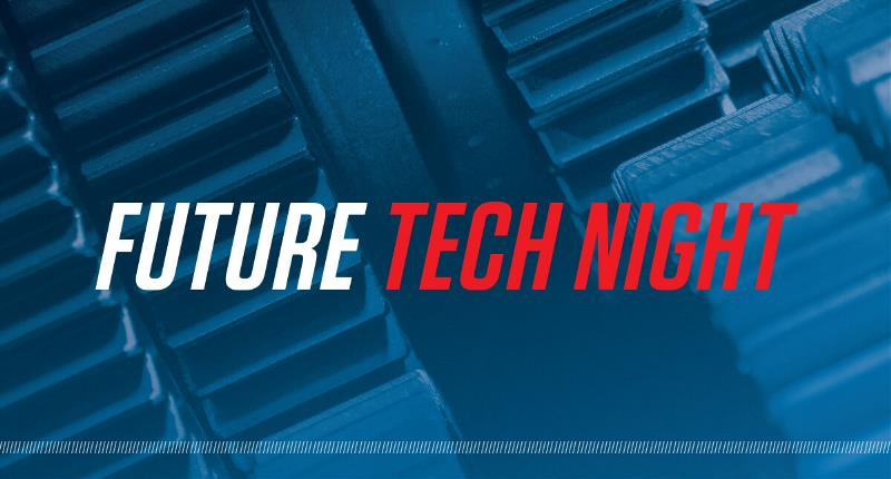 FUTURE TECH NIGHT Event Banner