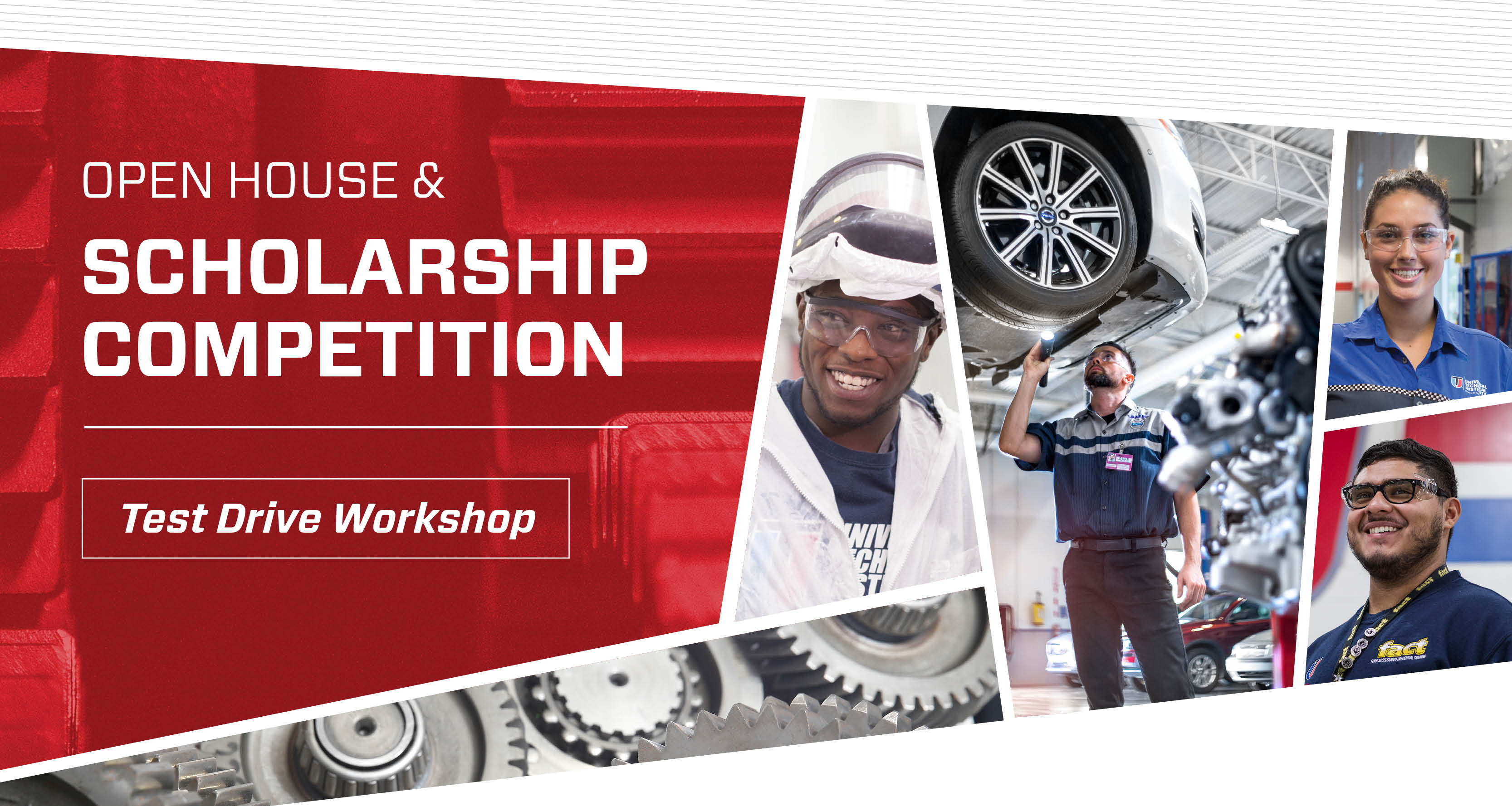 OPEN HOUSE and Scholarship Competition Test Drive Workshop Event