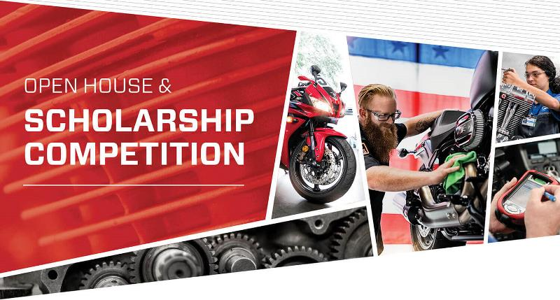 MMI-MOTORCYCLE OPEN HOUSE & SCHOLARSHIP TESTING