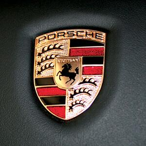 Porsche logo representing the specialized training program at Universal Technical Institute