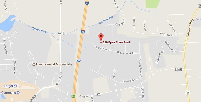 UTI Mooresville campus location on google maps