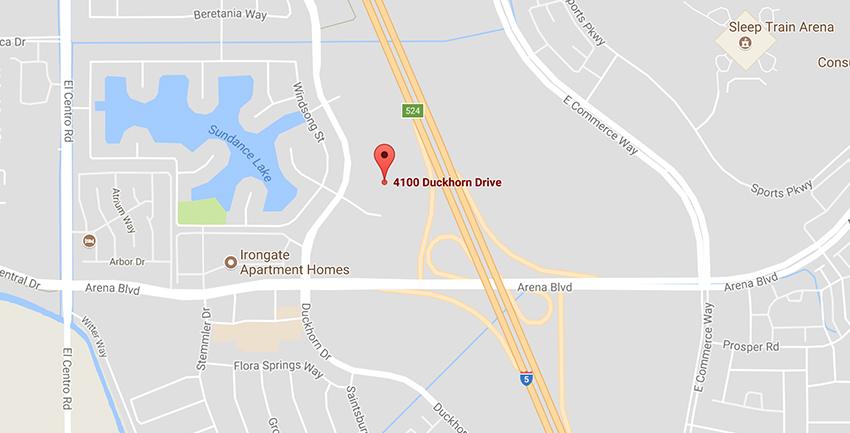 UTI Sacramento campus location on google maps