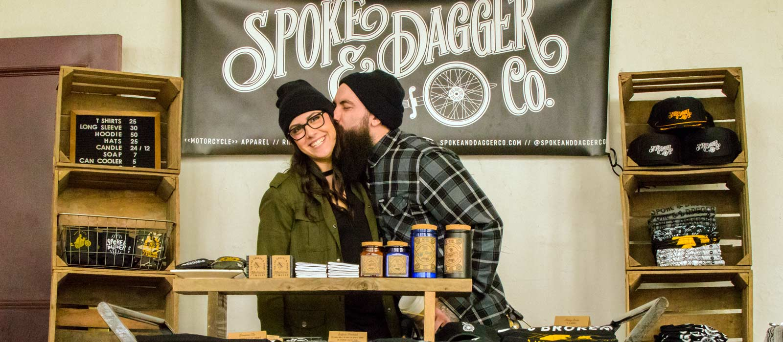 MMI grad Chris Drew and his wife grand opening of Spoke and Dagger in Buffalo New York