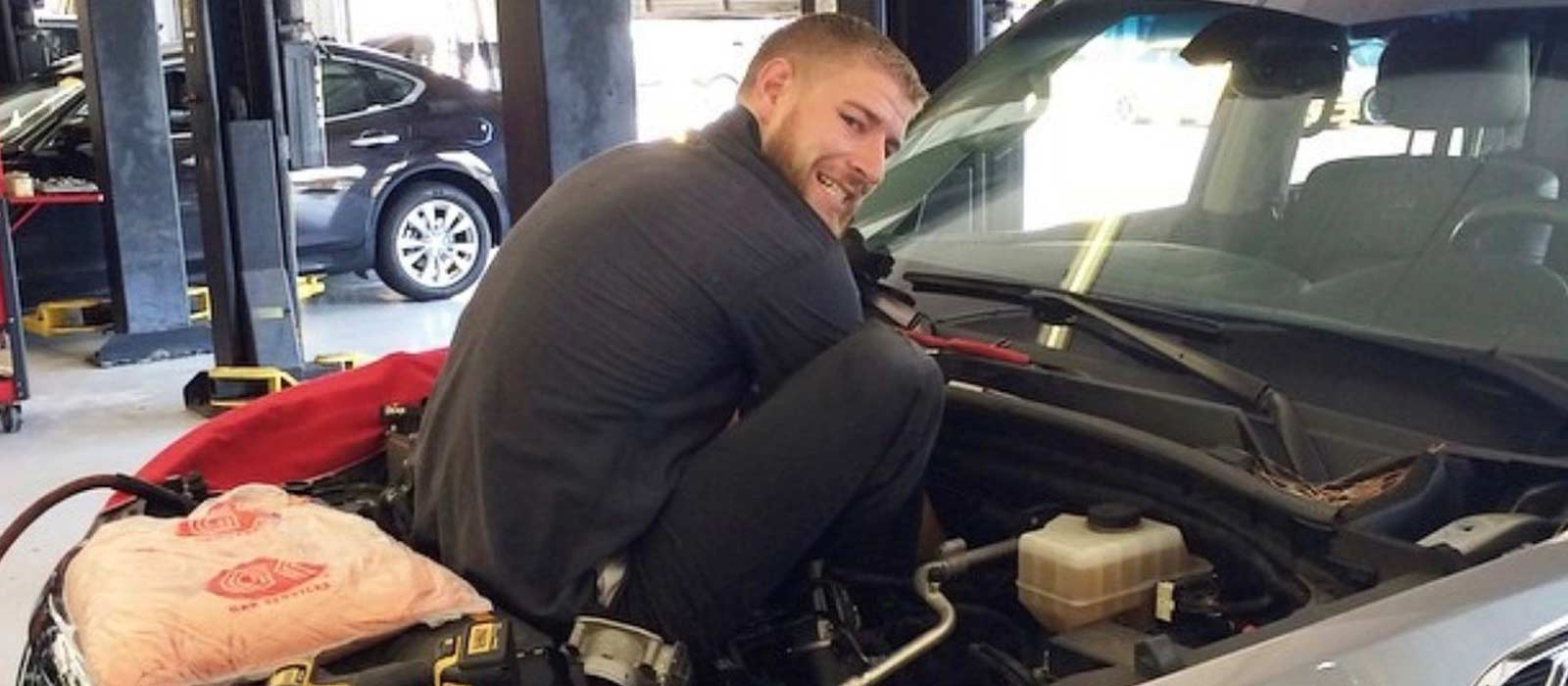 NASCAR Tech Grads Help Keep Vehicles on the Road During COVID-19
