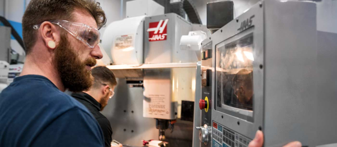Traits of a CNC Machinist technician student at UTI CNC Machining technology program