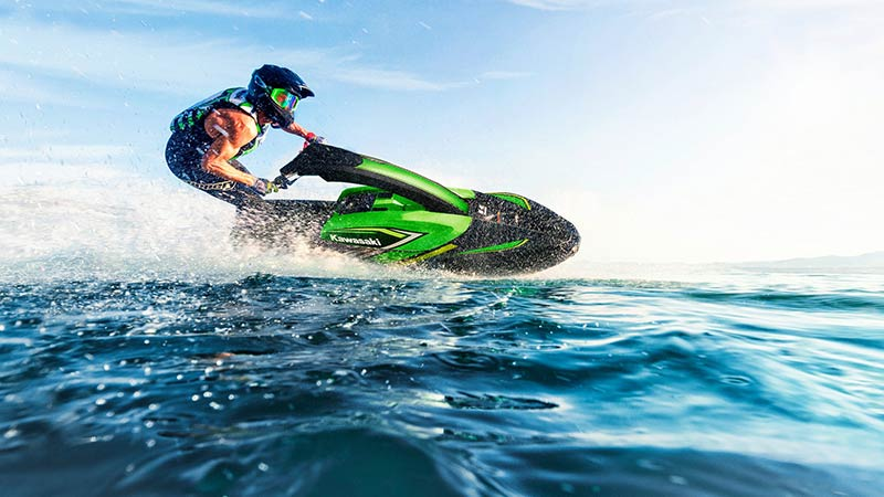 2020 Kawasaki JS1500ALF Jet Ski on the open water