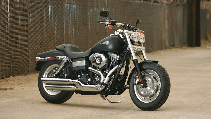 Harley-Davidson Dyna Fat Bob FXDF on the street