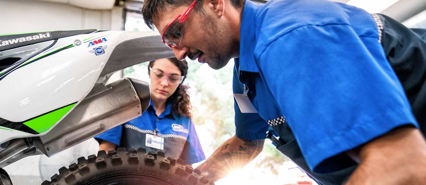 Careers for Motorcycle technicians