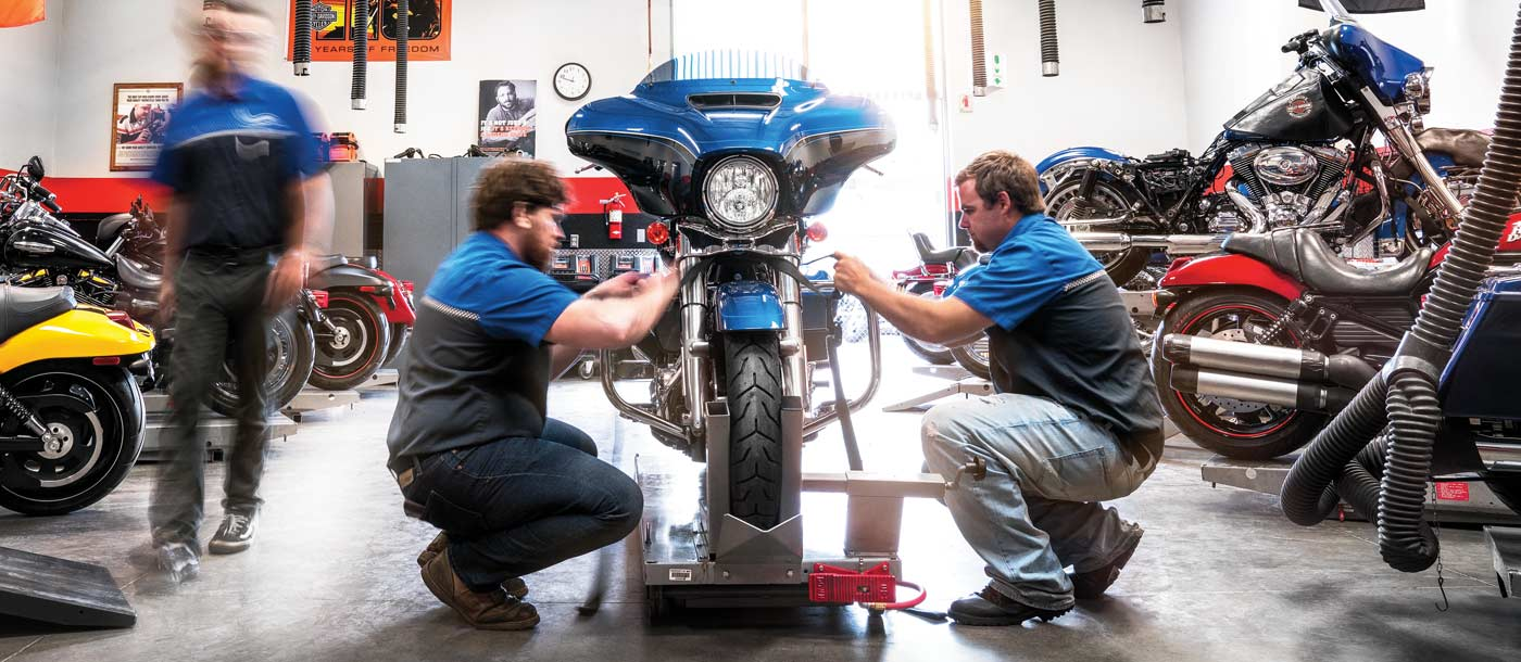 FAQs about being a motorcycle technician and motorcycle industry and mmi