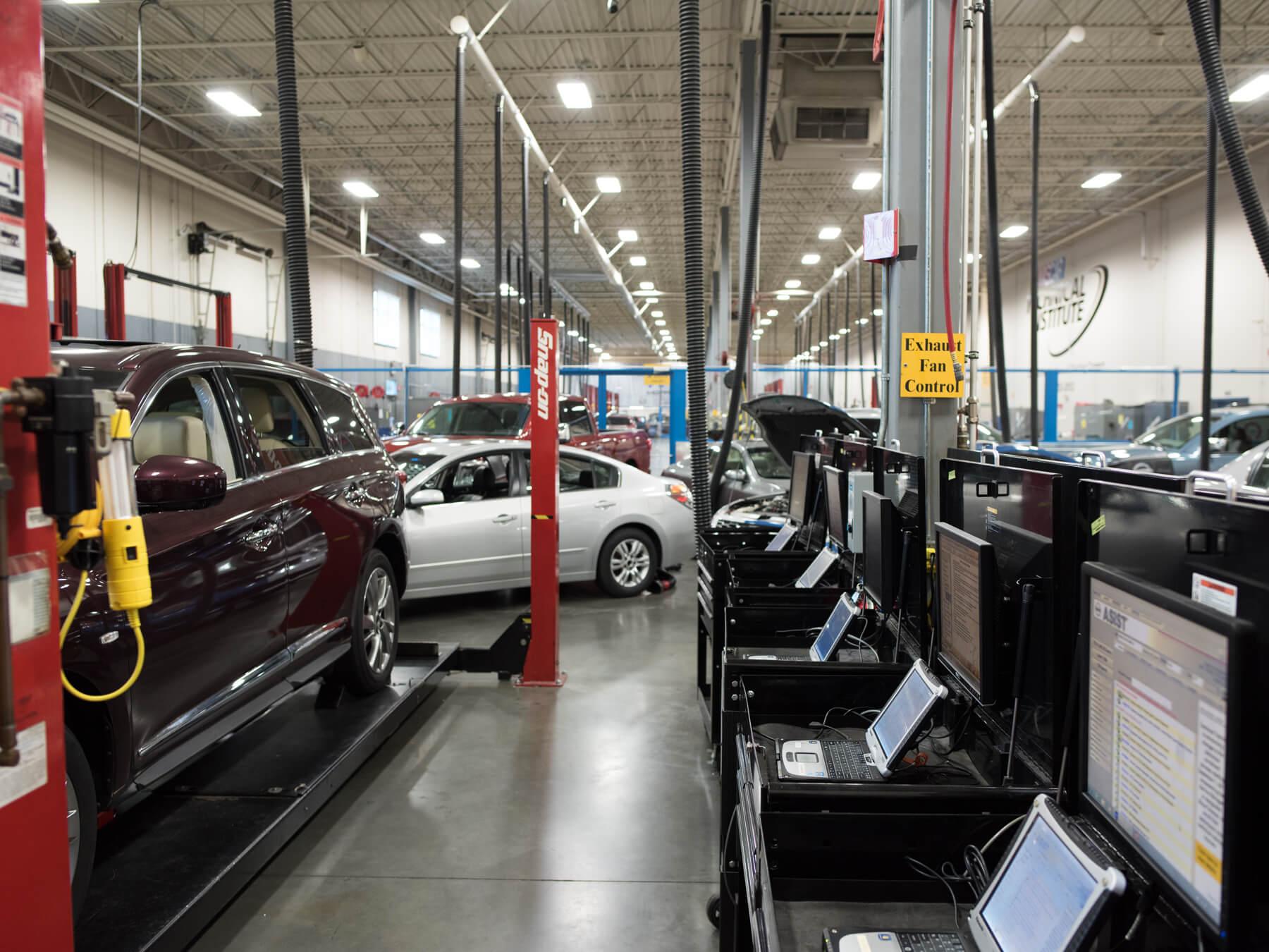 Nissan auto lab