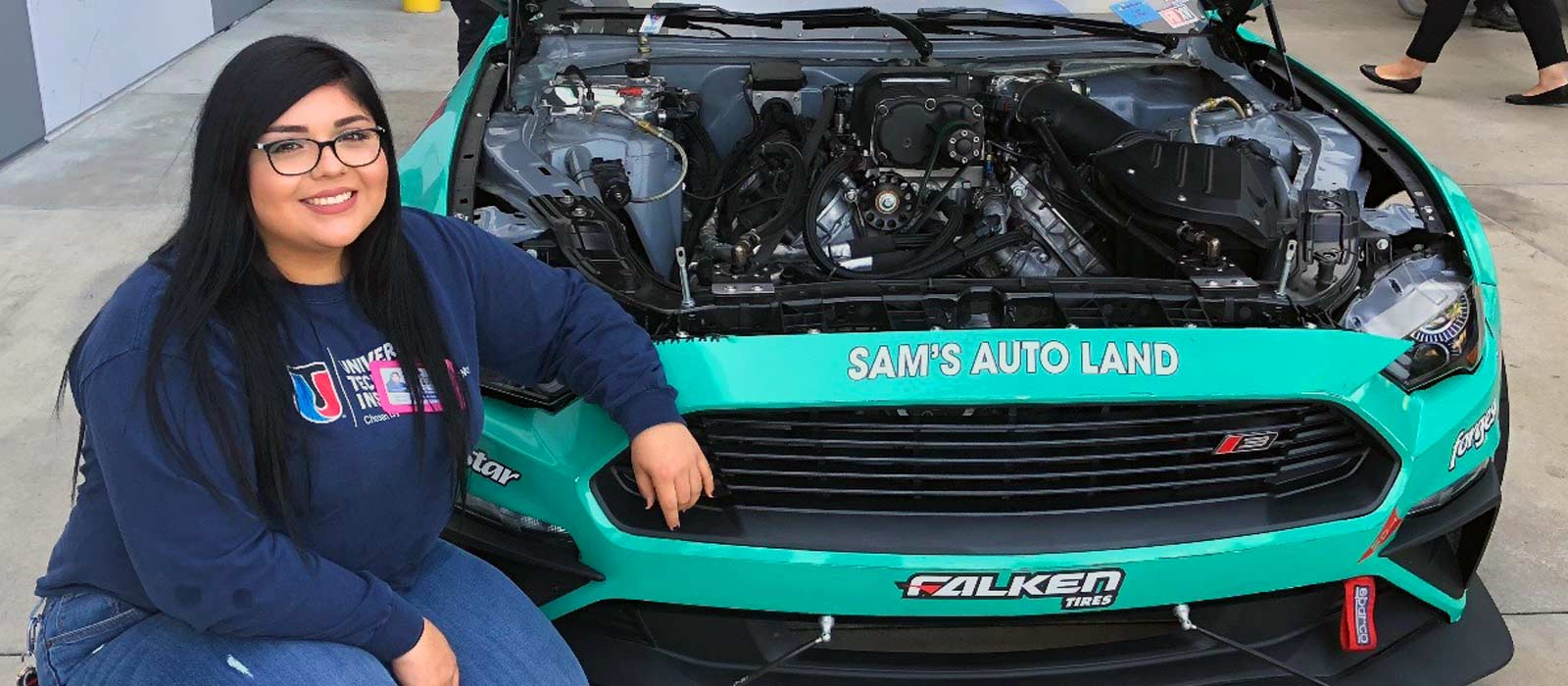 Meet Jazmin Rivera: UTI Grad, Diesel Technician and Business Owner