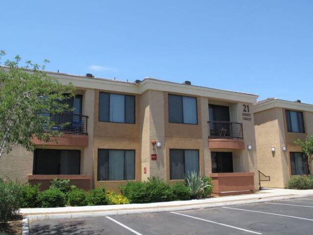 An image of the shared housing options for Motorcycle Mechanics Institute Phoenix Arizona