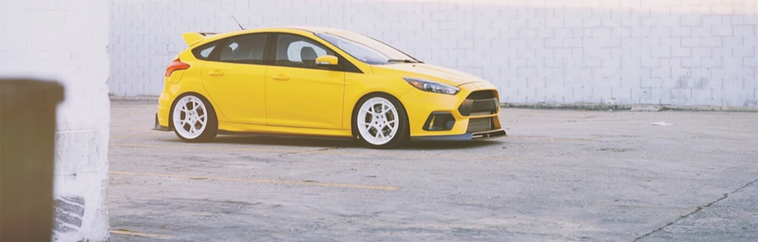 Ford Focus RS built by Neil for UTI